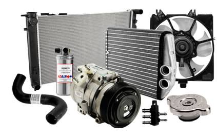 Cooling System - Cooling System Parts