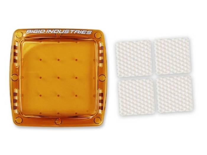 Rigid Industries - Rigid Industries Q-Series Diffusion Kit- Amber 40036