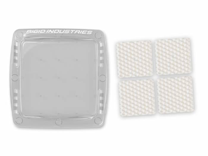 Rigid Industries - Rigid Industries Q-Series Diffusion Kit- Clear 40034