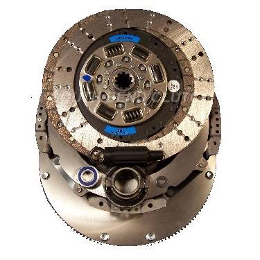 South Bend Clutch - SOUTH BEND DYNA MAX UPGRADE CLUTCH KIT 1947-OFEK (INCL. FLYWHEEL)