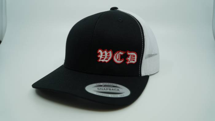 West Coast Diesels - BLACK and WHITE HAT FLEX FIT MESH BACK
