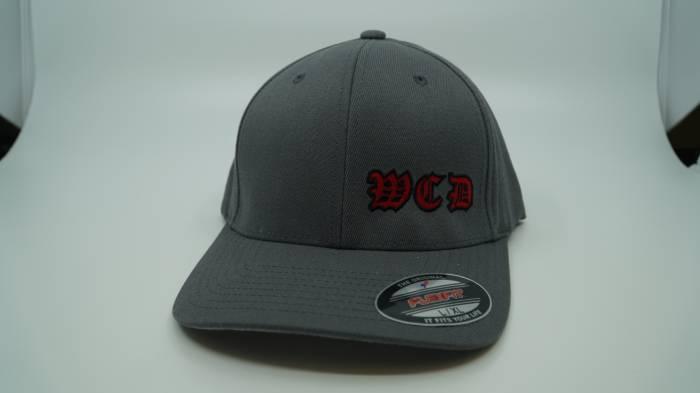 West Coast Diesels - GRAY BASEBALL HAT FLEX FIT L/XL