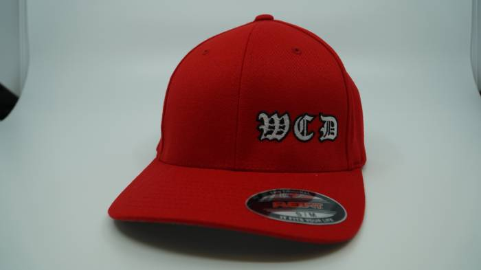 West Coast Diesels - RED BASEBALL HAT FLEX FIT L/XL