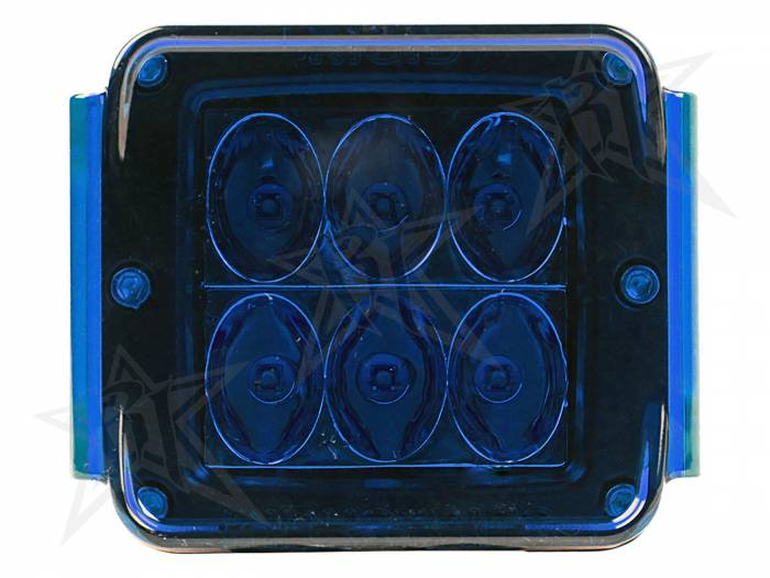 Rigid Industries - Rigid Industries Protective Polycarbonate Cover - Dually/D2 - Blue 20194