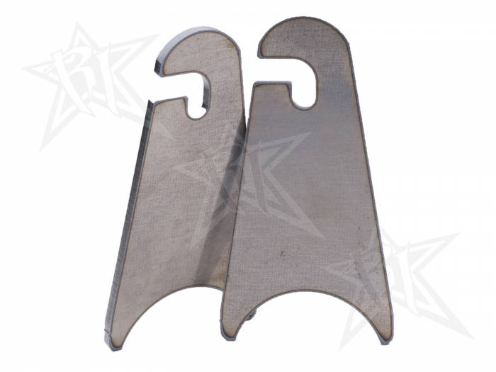 Rigid Industries - Rigid Industries Weld-On Slotted Tab (Pair) - Radius Base 40292