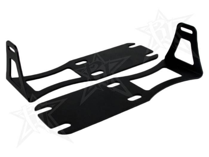 """Rigid Industries - Rigid Industries Dodge Ram 1500-3500 - '04-'13 - 20"""" SR-Series - Lower Bumper Bracket 40240"""