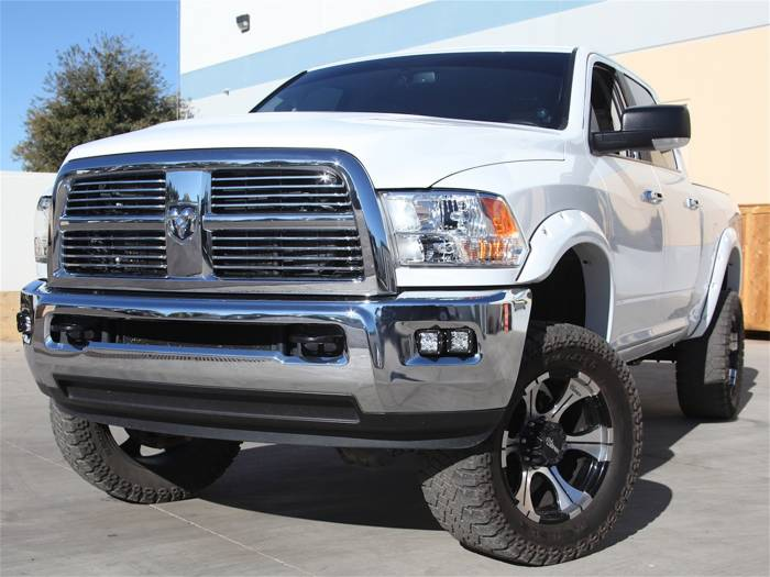 Rigid Industries - Rigid Industries Dodge Ram 2500 / 3500  2010-14 Fog LED Light Kit 46510