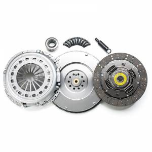 Ford Powerstroke - 1994-1997 Ford 7.3L Powerstroke - SOUTH BEND DYNA MAX CLUTCH (SINGLE MASS FLYWHEEL KIT)(INCL. FLYWHEEL)5OKHD
