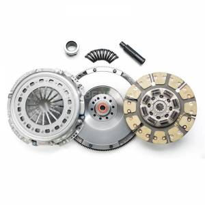 Ford Powerstroke - 2003-2007 Ford 6.0L Powerstroke - SOUTH BEND DYNA MAX CLUTCH (SINGLE MASS FLYWHEEL KIT) (INCL. FLYWHEEL)60DFK