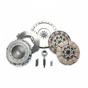 Ford Powerstroke - 1994-1997 Ford 7.3L Powerstroke - SOUTH BEND SFDD3250-5 STREET DUAL DISC CLUTCH