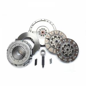 Ford Powerstroke - 2003-2007 Ford 6.0L Powerstroke - SOUTH BEND SFDD3250-60 STREET DUAL DISC CLUTCH