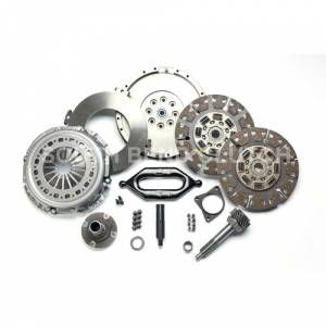 Ford Powerstroke - 1994-1997 Ford 7.3L Powerstroke - SOUTH BEND SDD3250-5K-ORG ORGANIC STREET DUAL DISC CLUTCH