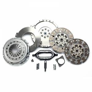 Transmission - Manual Transmission Parts - South Bend Clutch - SOUTH BEND SDD3250-6-ORG ORGANIC STREET DUAL DISC CLUTCH