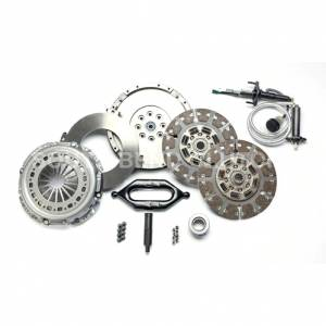 Dodge Cummins - 2007.5-2017 Dodge 6.7L 24V Cummins - SOUTH BEND SDD3250-GK-ORG ORGANIC STREET DUAL DISC CLUTCH