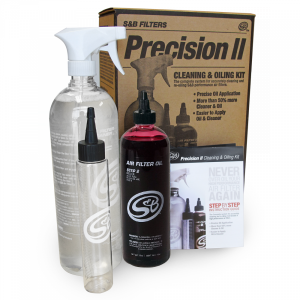 S&B Filters - PRECISION II: CLEANING & OIL KIT (RED OIL)