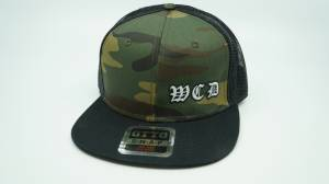 Gear & Apparel - HATS - West Coast Diesels - CAMO HAT SNAP BACK